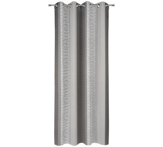 ÖSENVORHANG black-out (lichtundurchlässig) - Grau, KONVENTIONELL, Textil (140/245cm) - Esposa