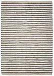 Vorleger Kleo 60x120 cm Weiß/Grau - Weiß/Grau, Basics, Textil (60/120cm) - James Wood