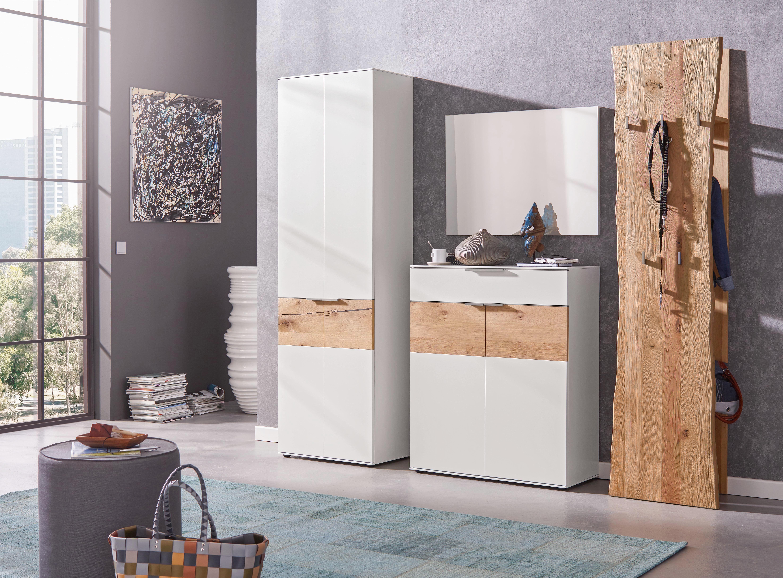 SPIEGEL - Weiß, Design, Glas/Holzwerkstoff (84/61/2cm) - DIETER KNOLL
