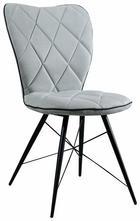STOL, kovina, tekstil svetlo zelena - črna/svetlo zelena, Design, kovina/tekstil (49/90/61cm) - Hom`in