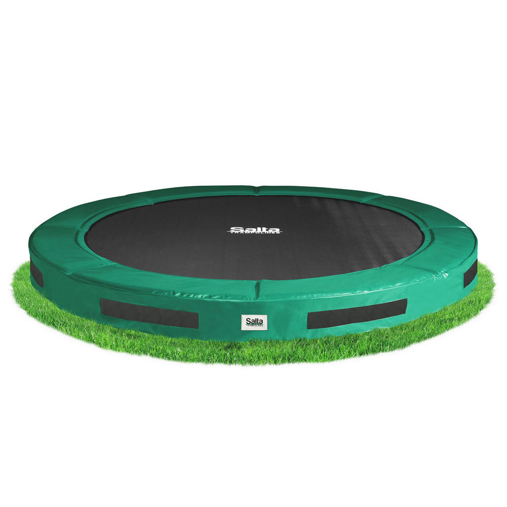 XXXL TRAMPOLIN SALTA EXCELLENT Grün   Kinderzimmer > Spielzeuge > Trampoline   Kunststoff   XXXL Shop
