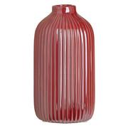 VASE 16,5 cm - Dunkelrosa, Design, Keramik (8,6/16,5cm) - Ambia Home