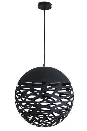 TAKLAMPA - svart, Design, metall (40/120cm) - Marama