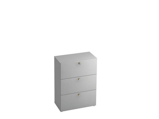 HÄNGEREGISTERELEMENT - Alufarben/Grau, KONVENTIONELL, Holzwerkstoff/Kunststoff (80/110/42cm)