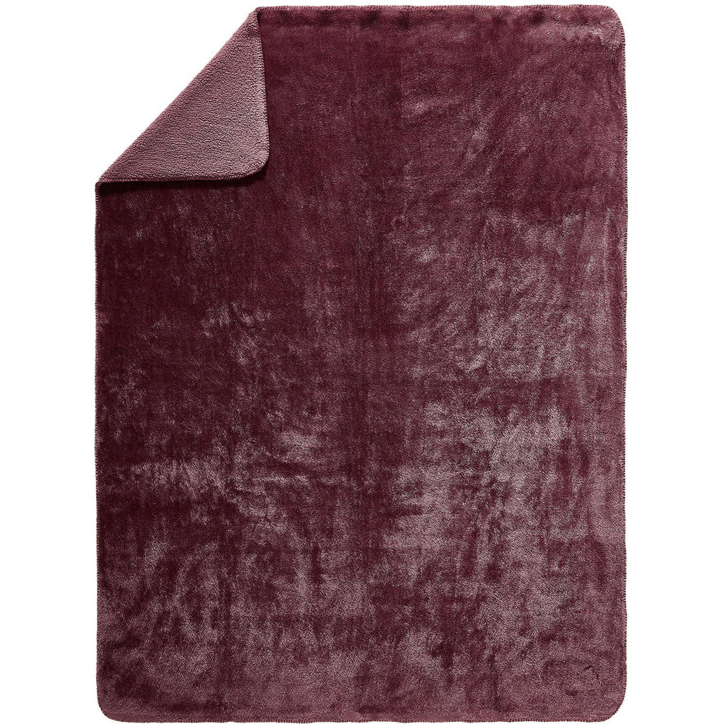 Novel Wohndecke 150/200 cm pink