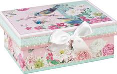Geschenkbox  - Multicolor, Trend, Karton/Papier (14/6/10cm) - Boxxx