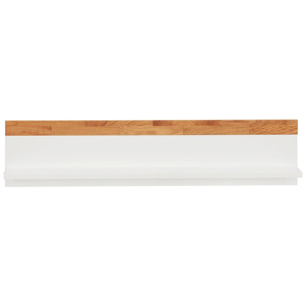 Image of Jimmylee Wandboard scandic , Ek12200-1 Scandic , weiss, Eichefarben , Holz, Holzwerkstoff , Eiche , massiv , 90x20x17 cm , lackiert,Echtholz, Nachbildung , 002637001306