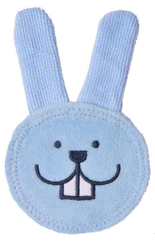 FINGERZAHNBÜRSTE - Blau/Rosa, Basics, Textil (14,2/22,5/1,2cm) - MAM