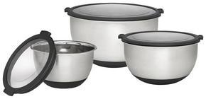 VISPSKÅLSET - svart/rostfritt stål-färgad, Design, metall/plast - Homeware Profession.
