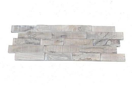 WANDVERKLEIDUNG - Teakfarben, Holz (56/20/0,8 - 1,8 cm)
