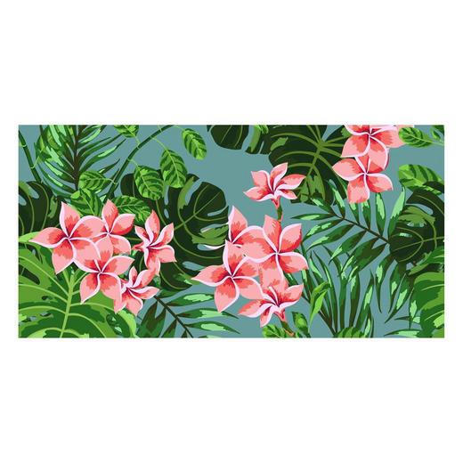 LÄUFER  In-/ Outdoor 70/140 cm  Grün, Pink, Rosa - Pink/Rosa, Kunststoff (70/140cm)