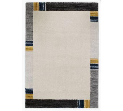 WEBTEPPICH - Blau/Grau, KONVENTIONELL, Textil (140/200cm) - Novel