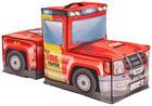 SITZSACK Fotogewebe Fahrzeuge Multicolor - Multicolor/Schwarz, Design, Textil (110/60/50cm) - Xora