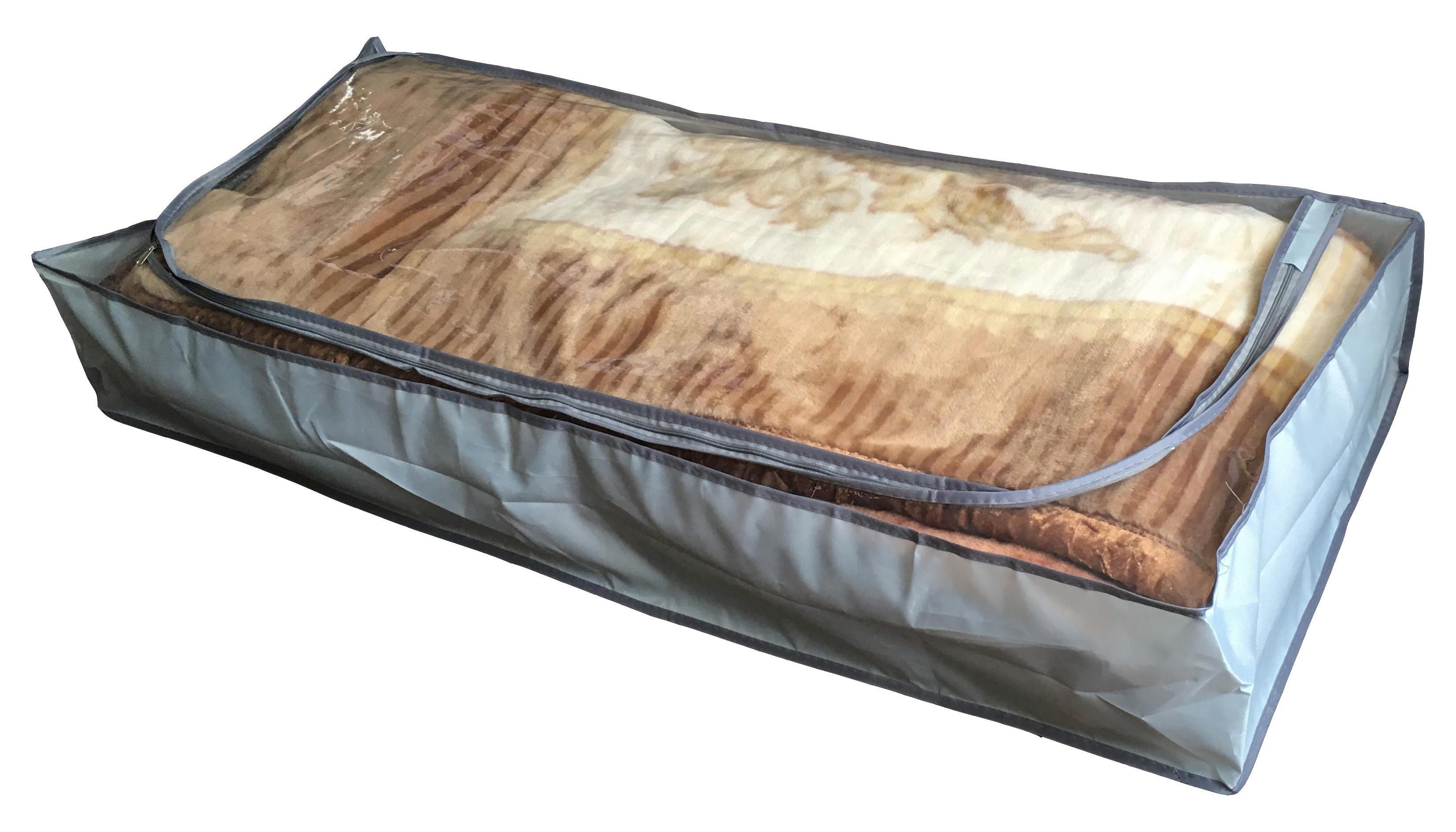 FALTBOX - Grau, Basics, Kunststoff (105/16/45cm)
