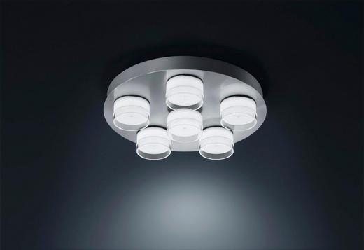 LED-DECKENLEUCHTE - LIFESTYLE, Metall (37/8cm)