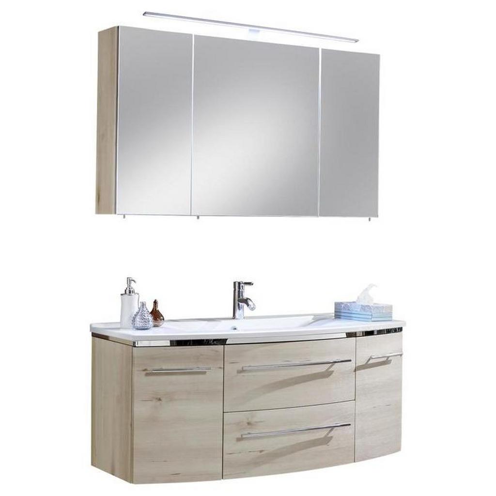 Welnova Badezimmer buchefarben