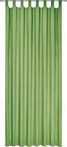 ZAVJESA S OMČAMA - zelena, Konvencionalno, tekstil (135/245cm) - BOXXX