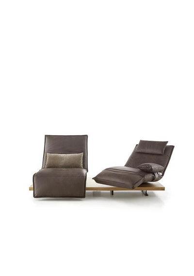 Koinor Zweisitzer-sofa echtleder eichefarben