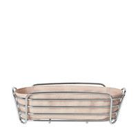 BROTKORB  - Rosa, Basics, Textil/Metall (25/9,5/25cm) - Blomus