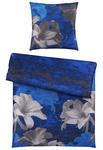 BETTWÄSCHE Satin Blau, Beige 135/200 cm  - Blau/Beige, KONVENTIONELL, Textil (135/200cm) - Esposa