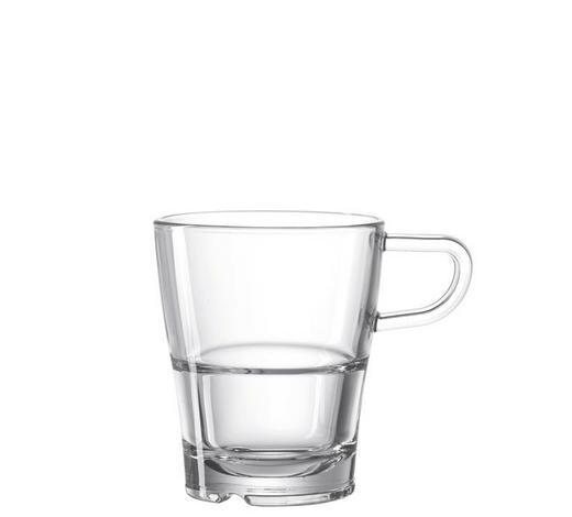 ŠÁLEK NA CAPPUCCINO,  - průhledné, Basics, sklo (0,17l) - Leonardo
