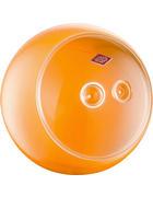 AUFBEWAHRUNGSBOX - Transparent/Orange, Kunststoff/Metall (24,8/22,5cm) - Wesco