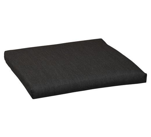 SITZKISSEN  - Graphitfarben, KONVENTIONELL, Textil (42/42/4cm)