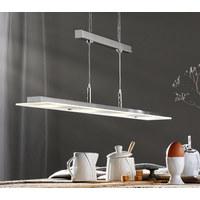 LED ZÁVĚSNÉ SVÍTIDLO - Design, sklo (90/8/150cm) - Novel