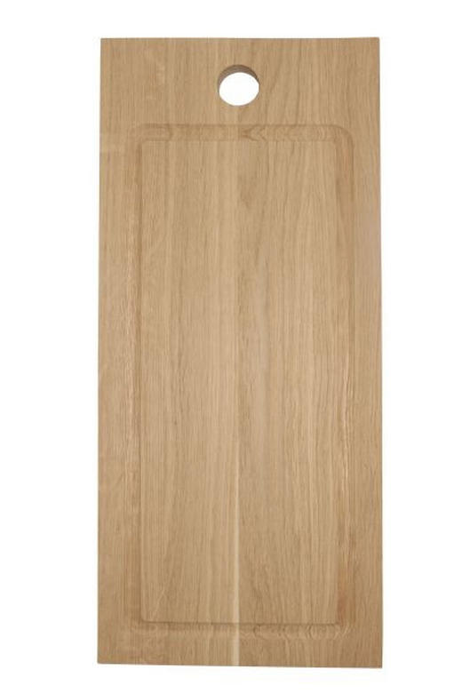 SERVIERBRETT Holz Eiche - Eichefarben, Basics, Holz (45/20/2cm) - Homeware Profession.