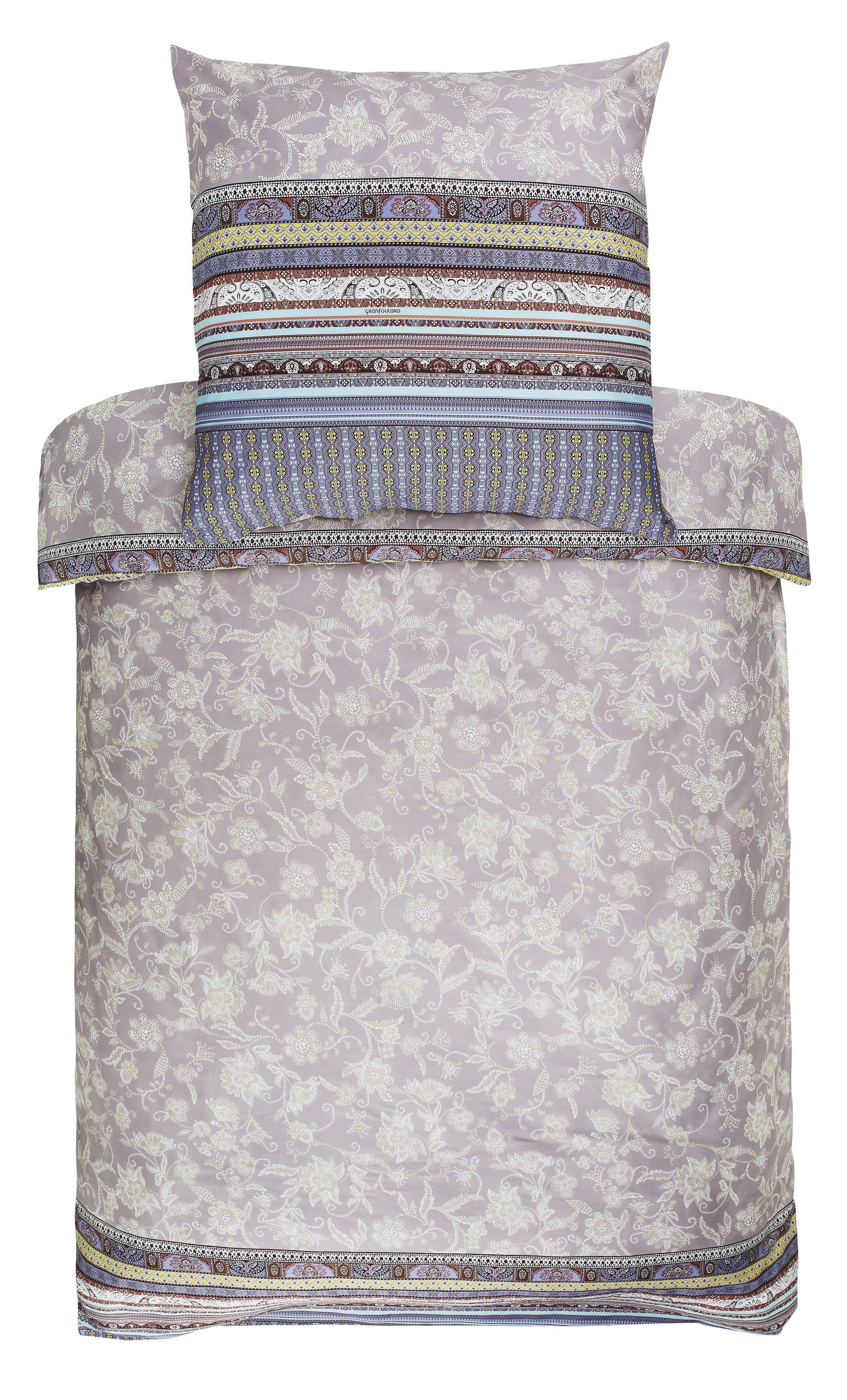 BETTWÄSCHE Grau - Grau, Design, Textil (155/220cm) - BASSETTI