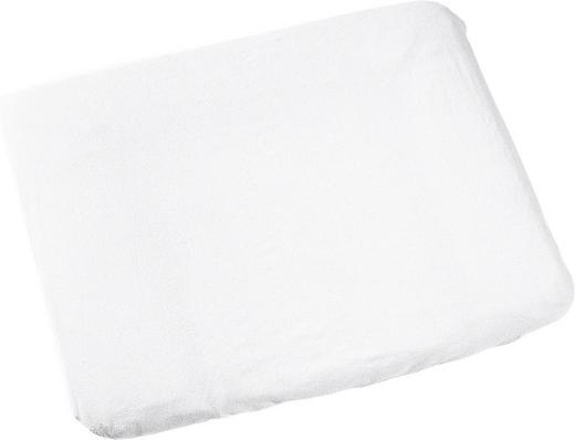 WICKELAUFLAGENBEZUG - Weiß, Basics (75/85cm) - Odenwälder