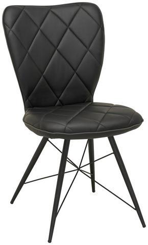 STOL - svart, Design, metall/textil (49/90/61cm) - Hom`in