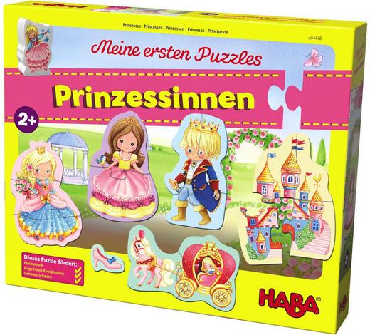 PUZZLE - Multicolor/Rosa, Basics, Holz/Weitere Naturmaterialien - Haba