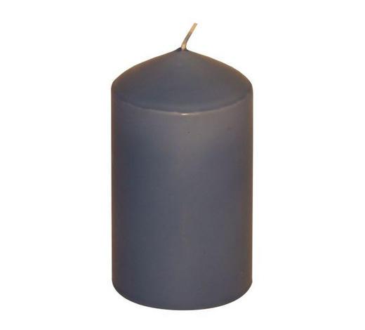 STUMPENKERZE 5,7/10 cm - Blau, Basics (5,7/10cm) - Steinhart