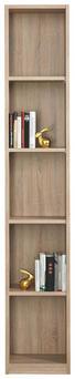 REGAL in Sonoma Eiche - Sonoma Eiche, Design, Holzwerkstoff (39/222/30cm) - Moderano