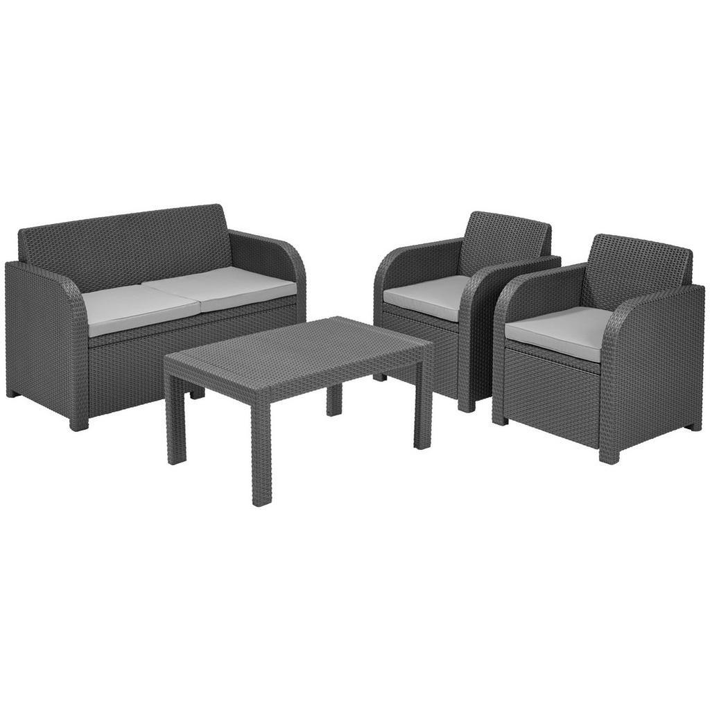 grau-textil Gartenmöbel-Set online kaufen | Möbel-Suchmaschine ...