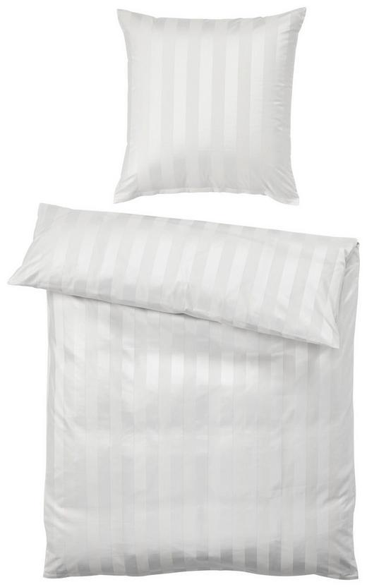 BETTWÄSCHE Weiß 155/220 cm - Weiß, Basics, Textil (155/220cm)