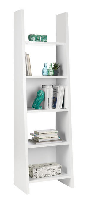 HYLLA - vit, Design, träbaserade material (54/187/38cm)