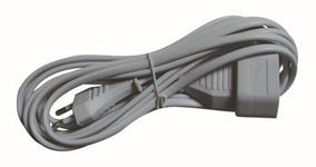 VERLÄNGERUNGSKABEL - Weiß, Basics, Kunststoff/Metall (20,5/5,5/4cm) - Homeware