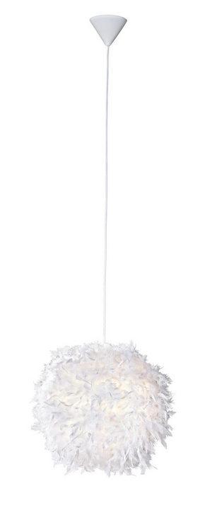 TAKLAMPA - vit, Trend, ytterligare naturmaterial/papper (30cm) - Boxxx
