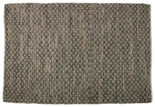 TEPPICH   Beige, Braun - Beige/Braun, KONVENTIONELL, Leder/Textil (240/170cm) - Carryhome