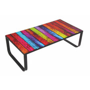 COUCHTISCH in 55/32/105 cm Multicolor - Multicolor, Design, Glas/Metall (55/32/105cm) - Carryhome
