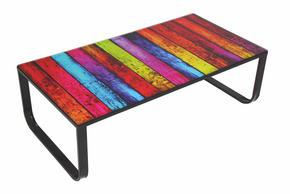 SOFFBORD - multicolor, Design, metall/glas (105/55/32cm) - Carryhome