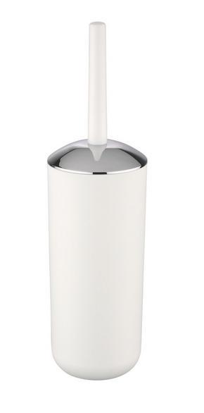 TOALETTBORSTSET - vit, Basics, plast (10/37/cm)
