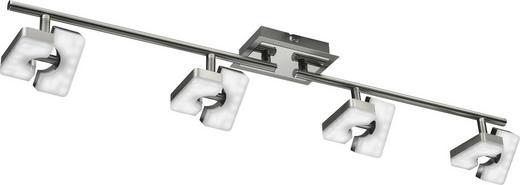 LED-STRAHLER - Nickelfarben, Design, Kunststoff/Metall (11/85cm) - Novel