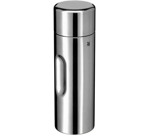 ISOLIERFLASCHE 0,75 l - Silberfarben/Schwarz, Design, Kunststoff/Metall - WMF