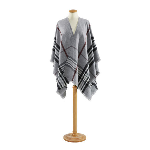 PLAID Anthrazit, Grau - Anthrazit/Grau, LIFESTYLE, Textil (130/200cm) - Ambiente