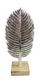 DEKORAČNÍ PERA - barvy stříbra, Design, umělá hmota (12/27,5/8cm) - Ambia Home