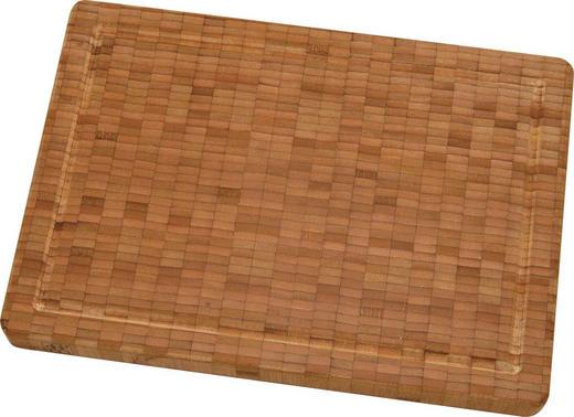 SCHNEIDEBRETT Holz Bambus - Braun, Basics, Holz - Zwilling