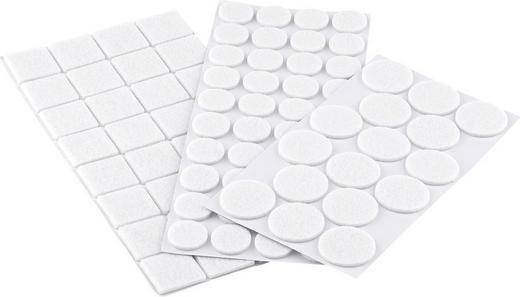 SET ŠTITNIKA OD FILCA - bijela, Basics, tekstil - Boxxx
